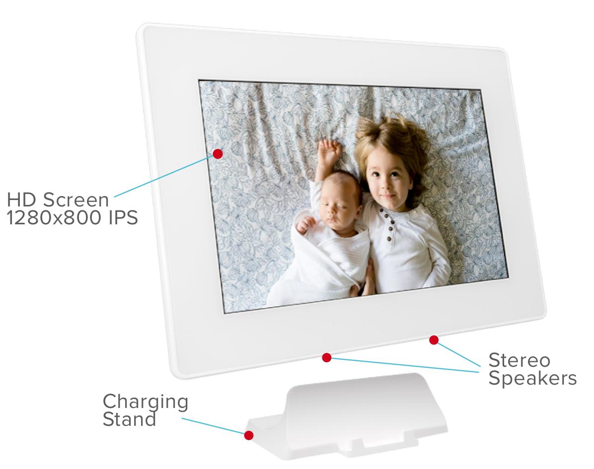 Device Basics – PhotoSpring Smart Frame Support